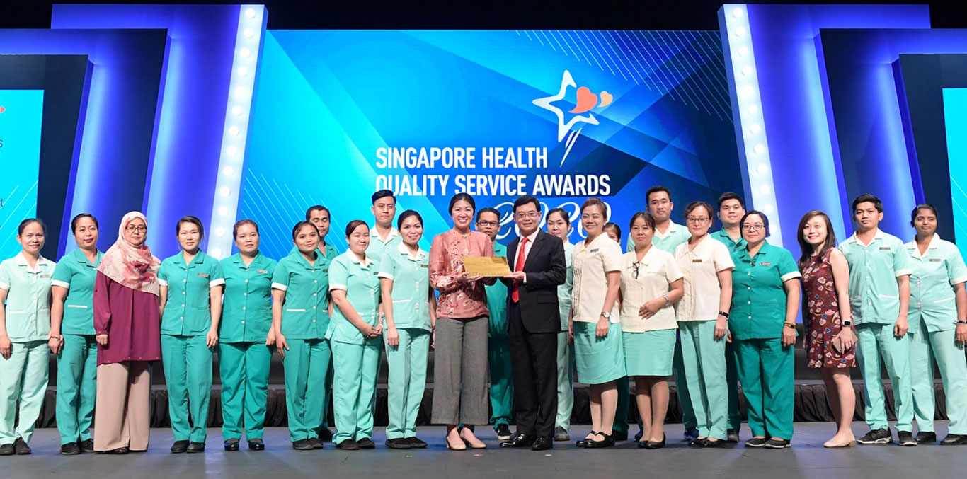 Celebrating ECON's brightest stars at the Singapore Health Quality Service Award 2020