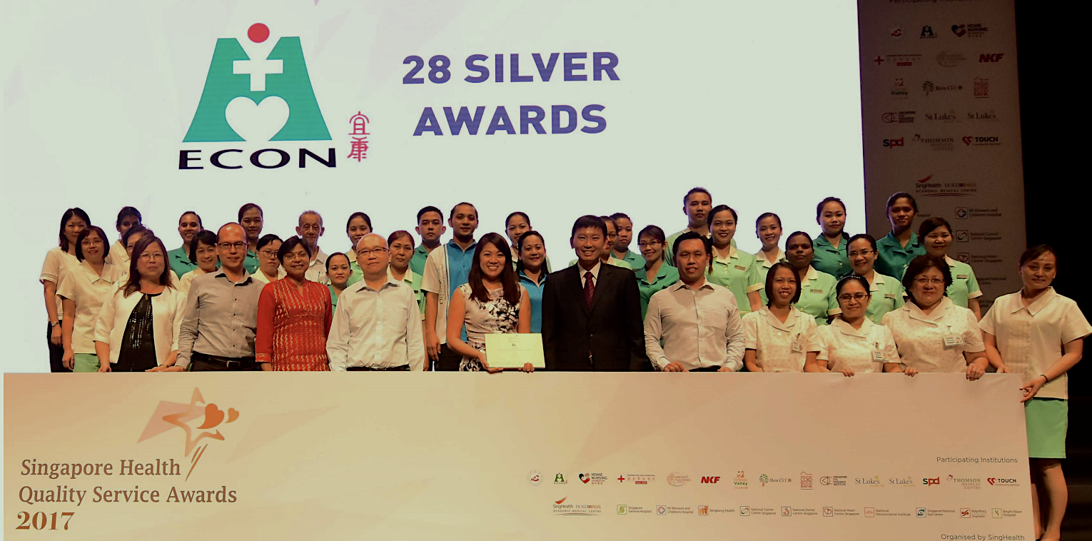28 Silvers at the Singapore Health Quality Service Awards